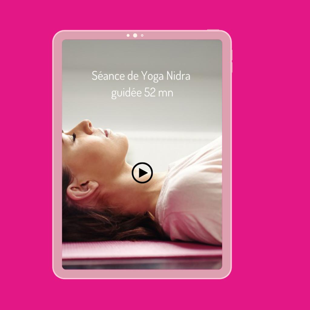séance de yoga nidra à faire chez soi